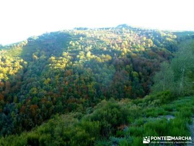 Ancares lucenses; viaje Puente noviembre; rutas monasterio de piedra rutas trekking madrid